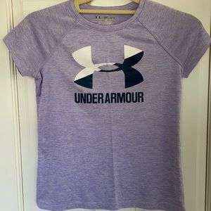 Girls Under Armour athletic shirt